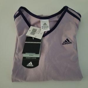 🕶️ Purple Adidas top size medium